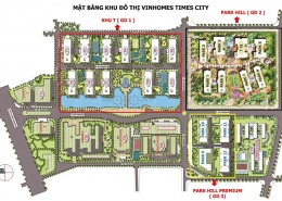 mat bang vinhomes times city